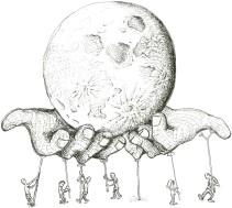 Moon hands